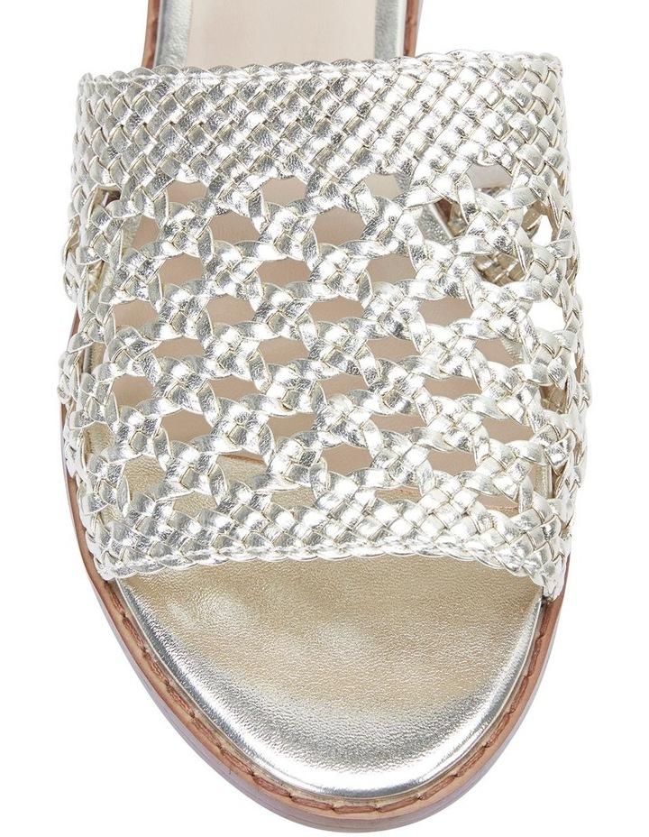 Becky Gold Metallic Sandals image 6