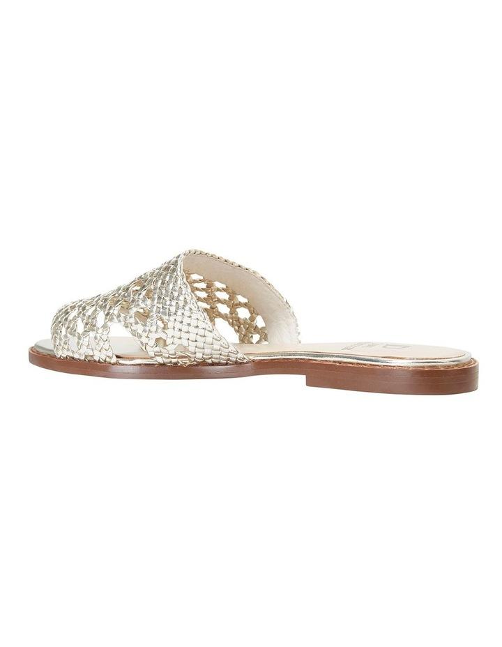 Becky Gold Metallic Sandals image 7