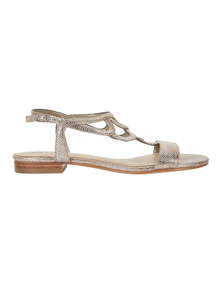 Tahiti Gold Metallic Sandals image 1