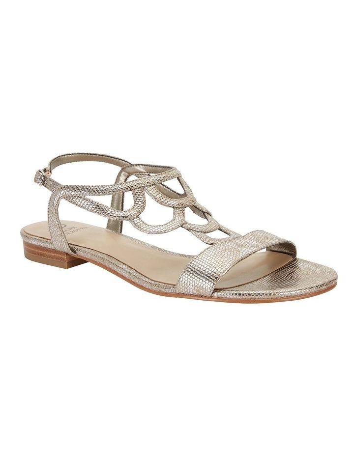 Tahiti Gold Metallic Sandals image 2