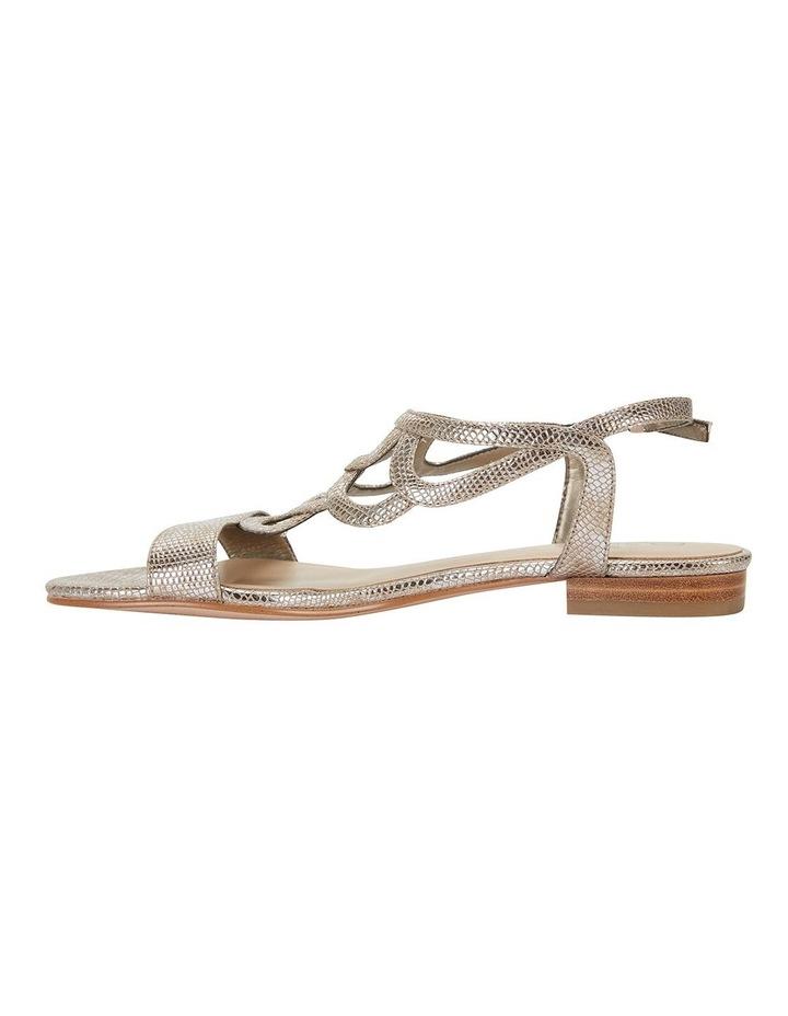 Tahiti Gold Metallic Sandals image 3