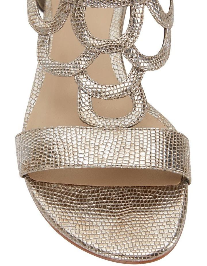 Tahiti Gold Metallic Sandals image 5