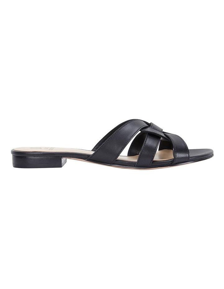 Tegan Black Glove Sandals image 1