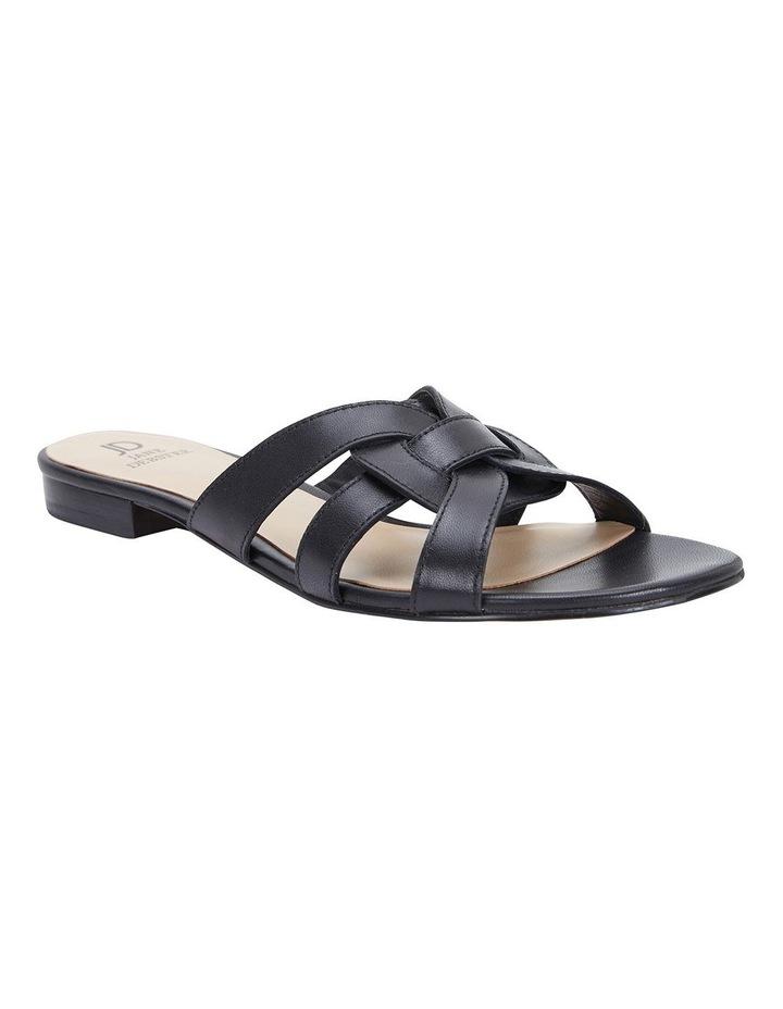 Tegan Black Glove Sandals image 2