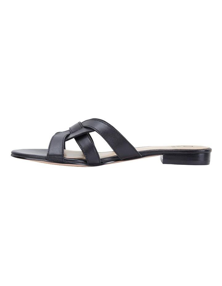Tegan Black Glove Sandals image 3