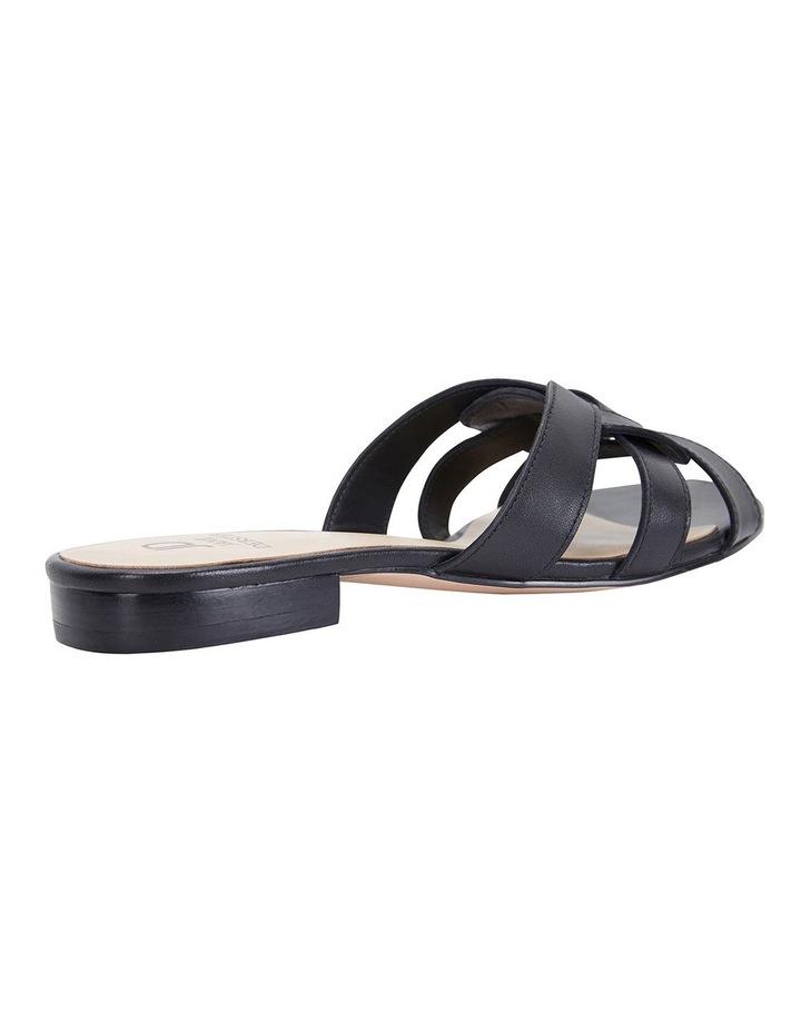 Tegan Black Glove Sandals image 5