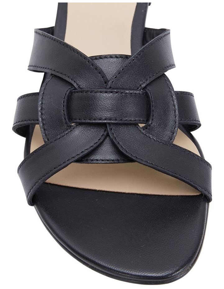 Tegan Black Glove Sandals image 6