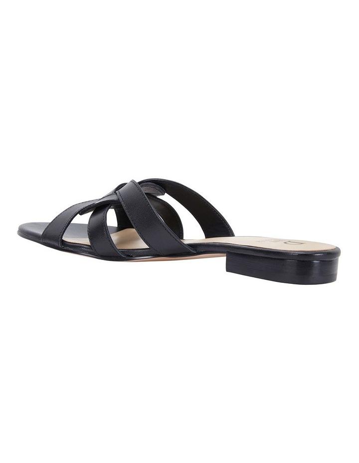 Tegan Black Glove Sandals image 7