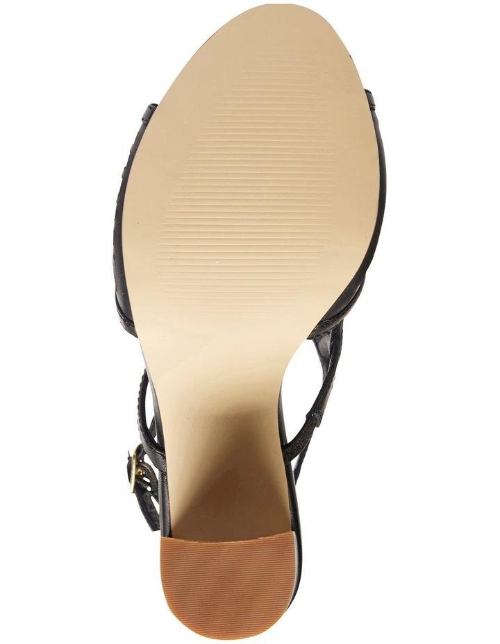 Varsity Black Glove Sandal image 5