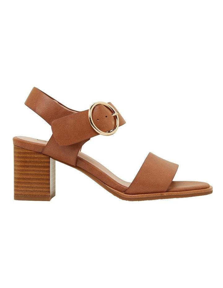 Nickel Cognac Glove Sandals image 1
