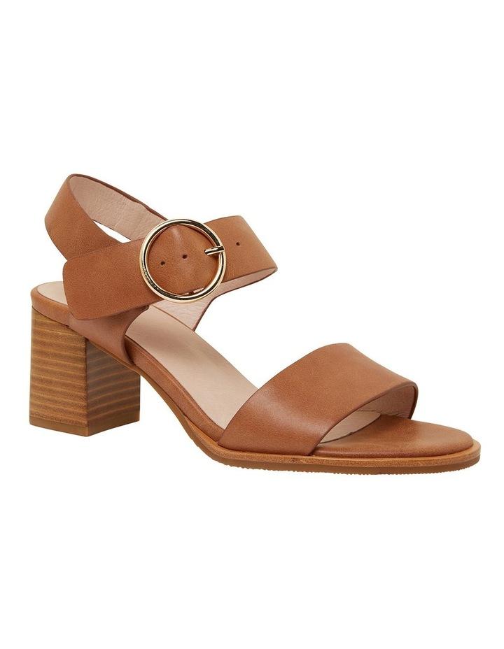Nickel Cognac Glove Sandals image 2