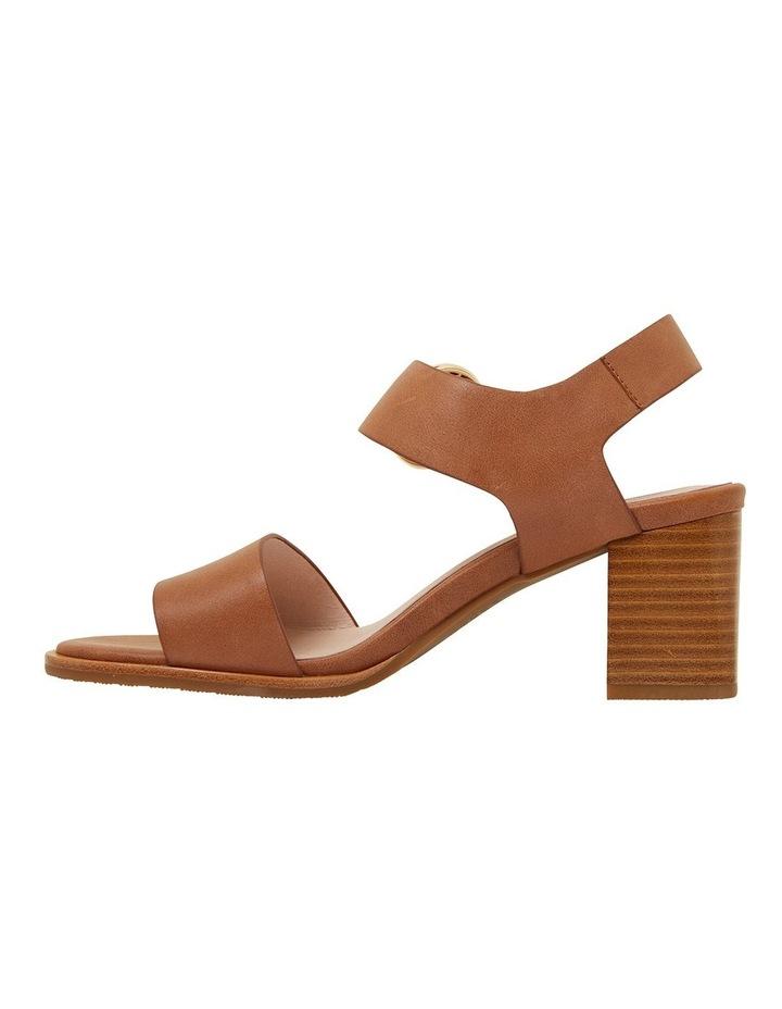 Nickel Cognac Glove Sandals image 3