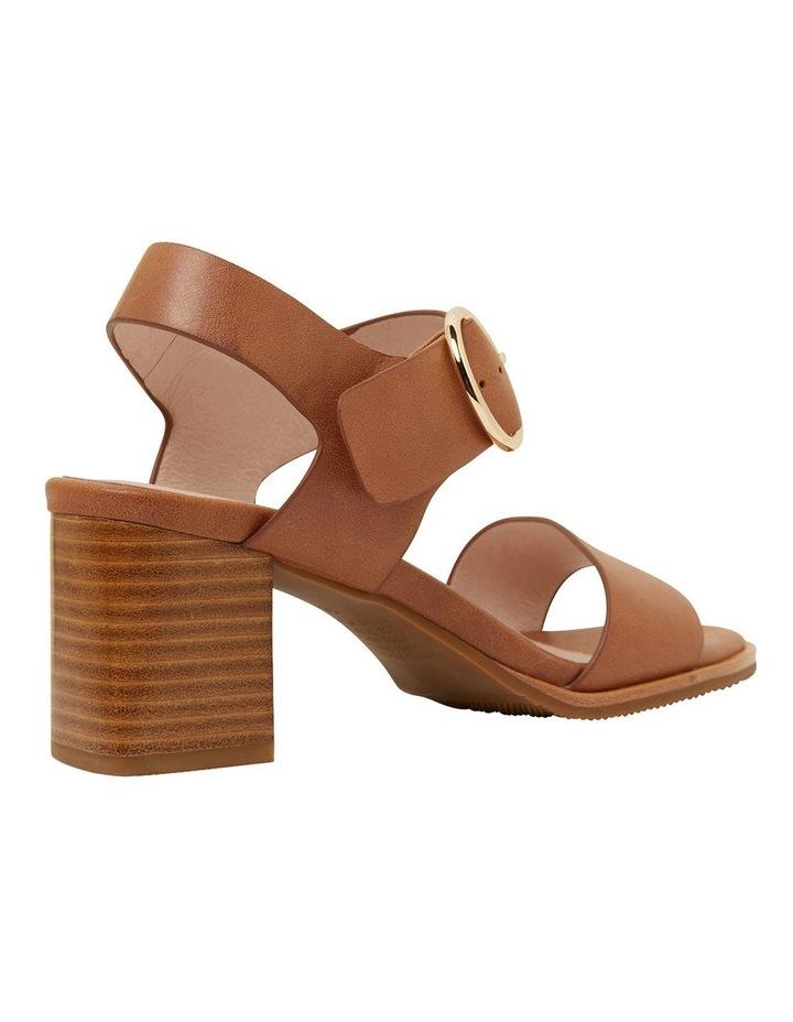Nickel Cognac Glove Sandals image 4