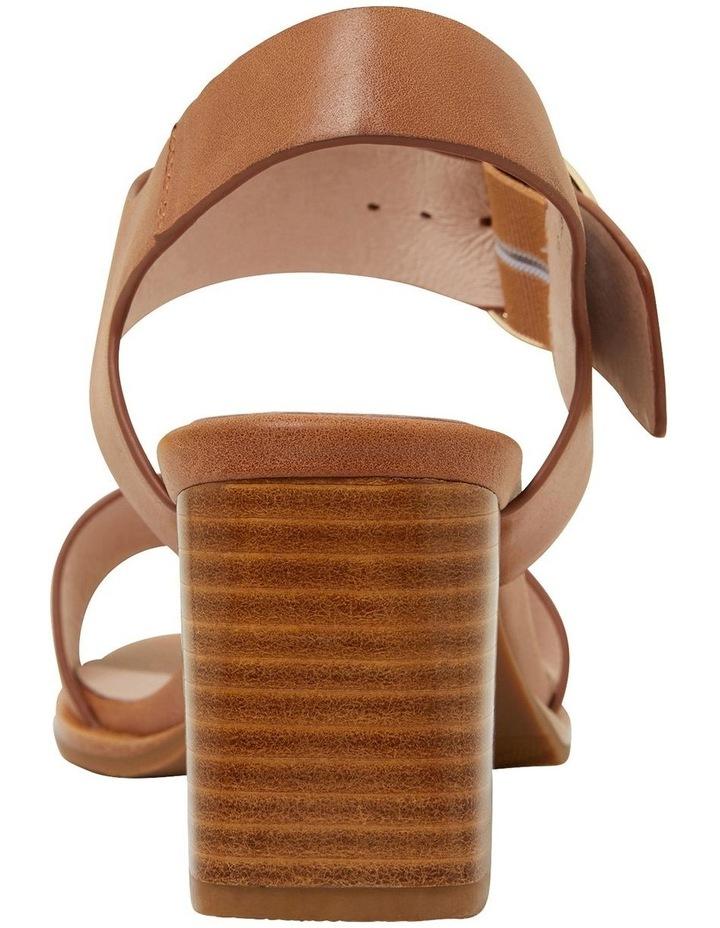 Nickel Cognac Glove Sandals image 5