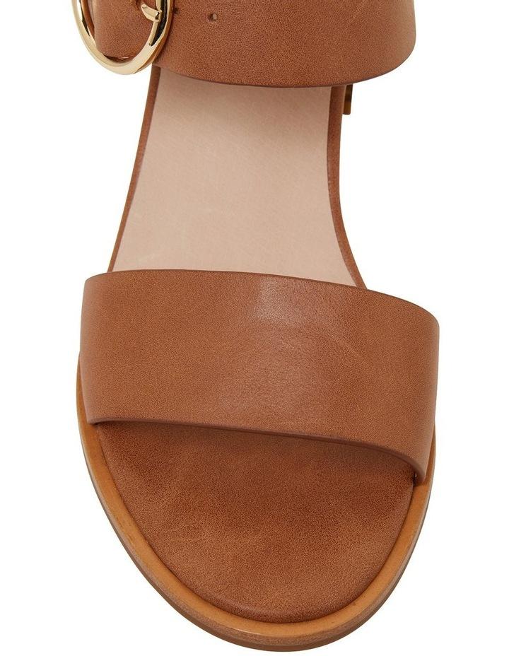 Nickel Cognac Glove Sandals image 6