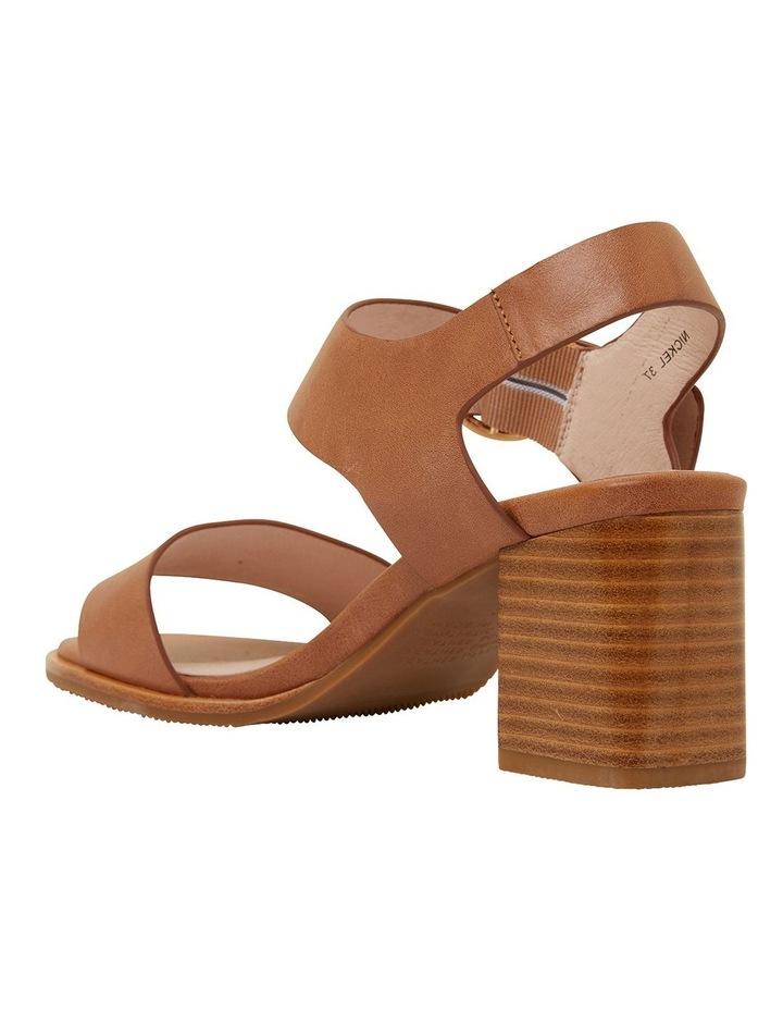 Nickel Cognac Glove Sandals image 7