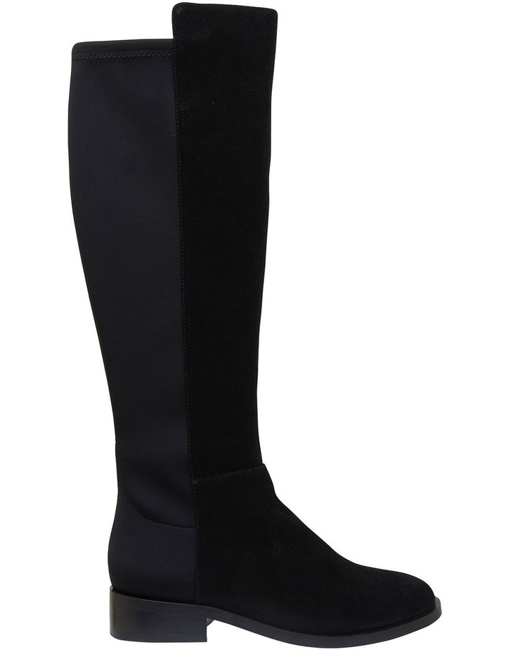 Kennedy Black Suede Boots image 1
