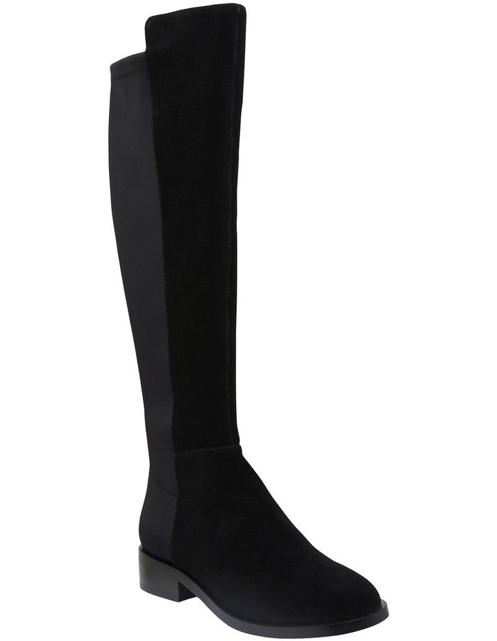 Kennedy Black Suede Boots image 2
