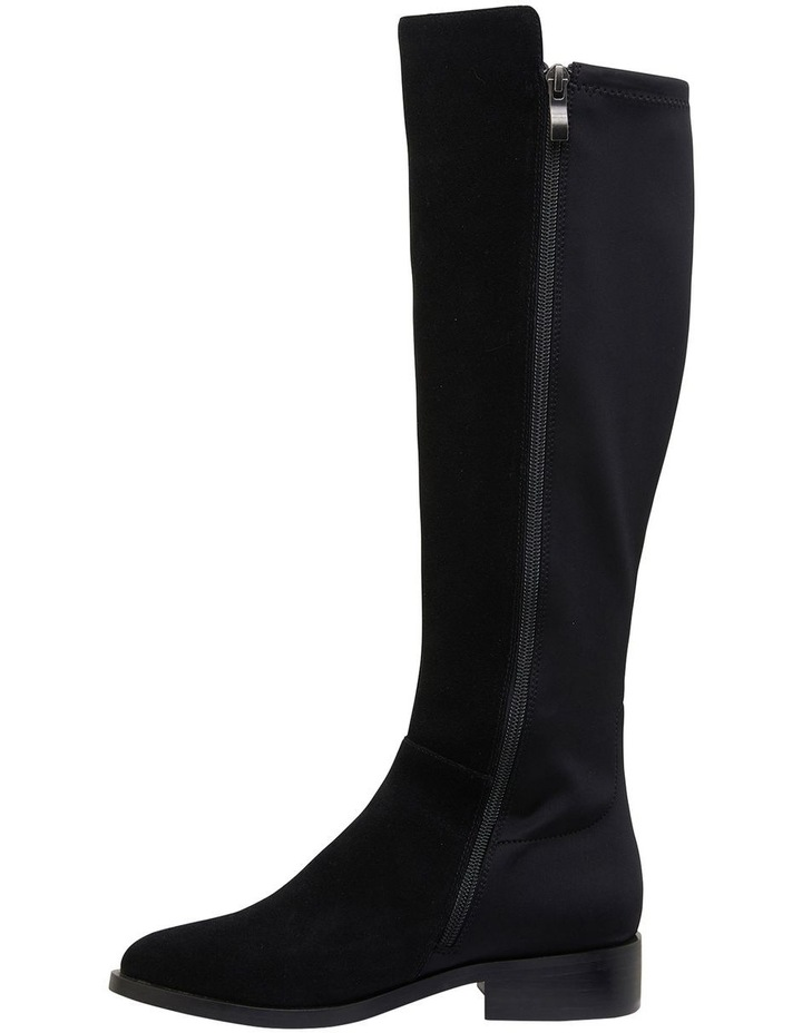 Kennedy Black Suede Boots image 3