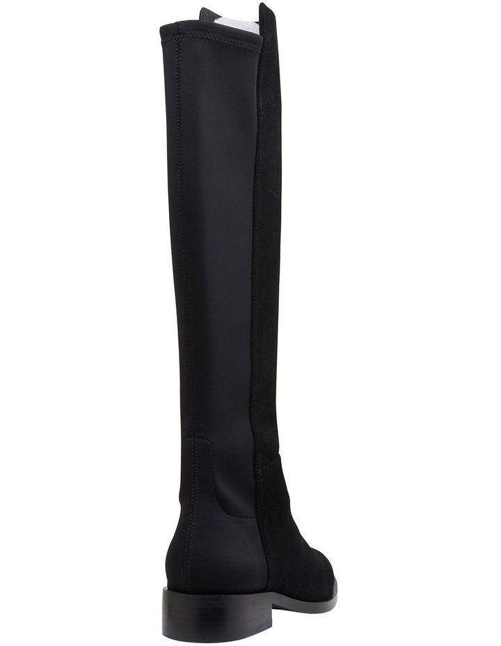 Kennedy Black Suede Boots image 4