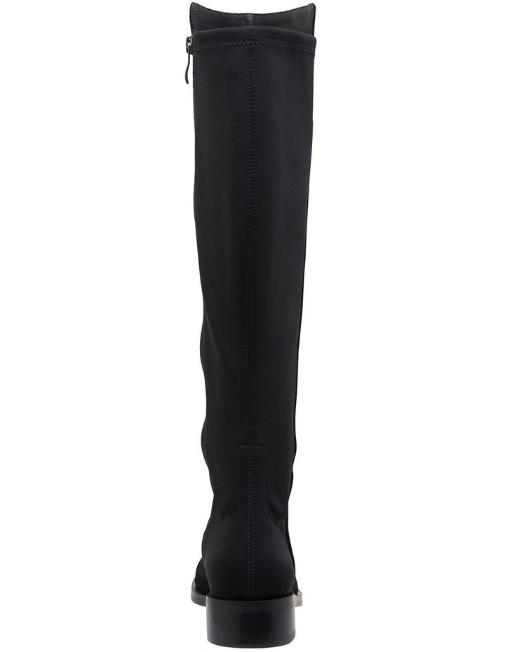Kennedy Black Suede Boots image 5