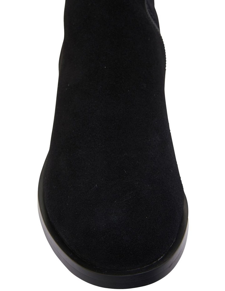 Kennedy Black Suede Boots image 7