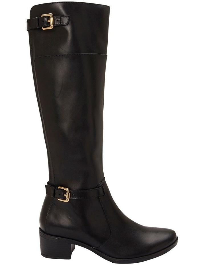 Hamish Black Hi Shine Boots image 1