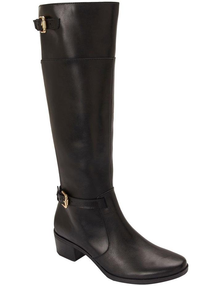 Hamish Black Hi Shine Boots image 2