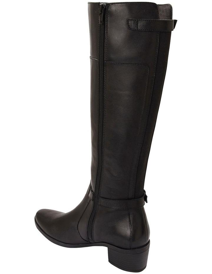 Hamish Black Hi Shine Boots image 3