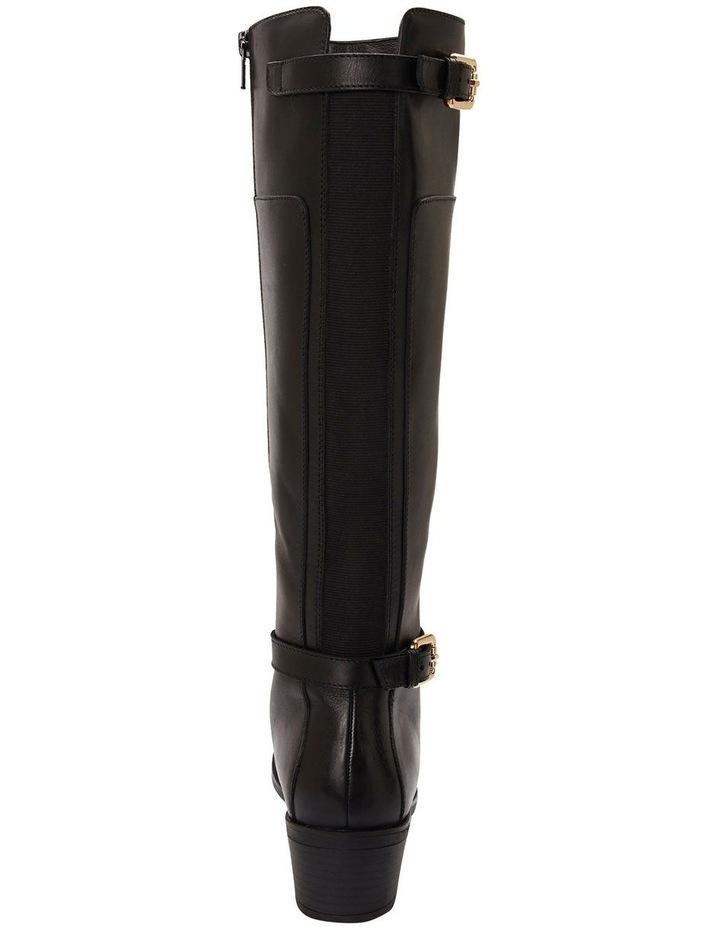 Hamish Black Hi Shine Boots image 4