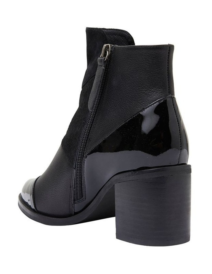 Dominic Black Combo Boots image 7