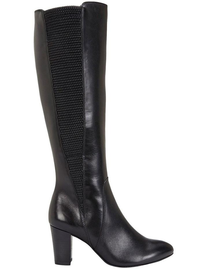 Knight Black Hi Shine Boots image 1