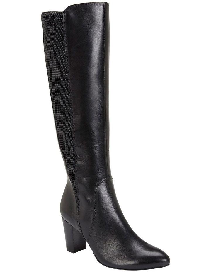 Knight Black Hi Shine Boots image 2