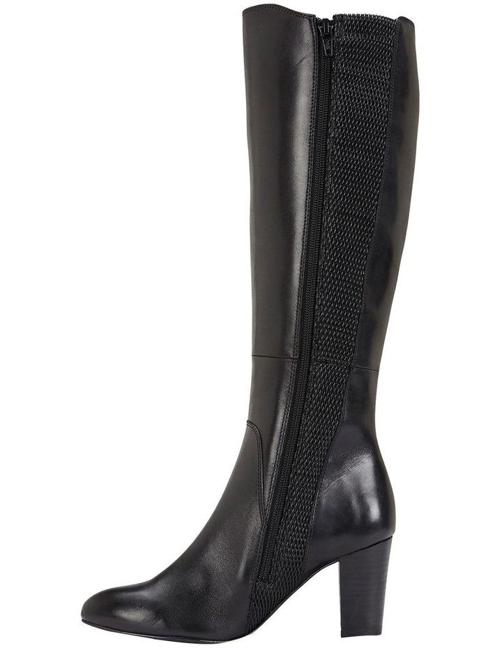 Knight Black Hi Shine Boots image 3