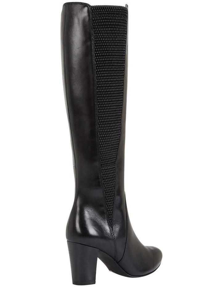 Knight Black Hi Shine Boots image 4