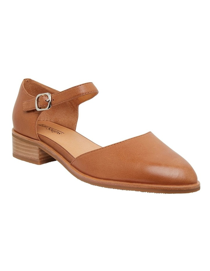 Jesinta Cognac Glove Flat Shoes image 2