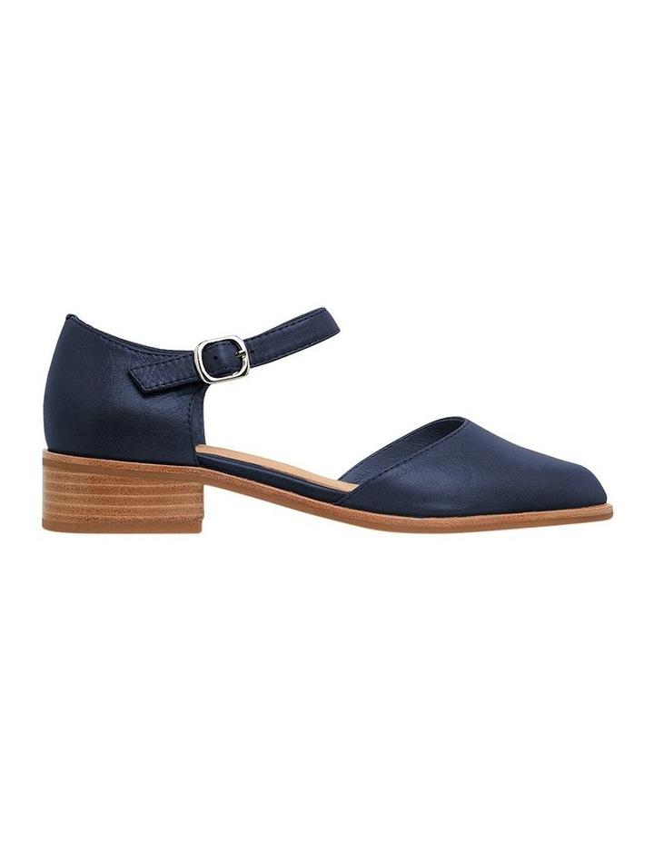 Jesinta Navy Glove Flat Shoes image 1