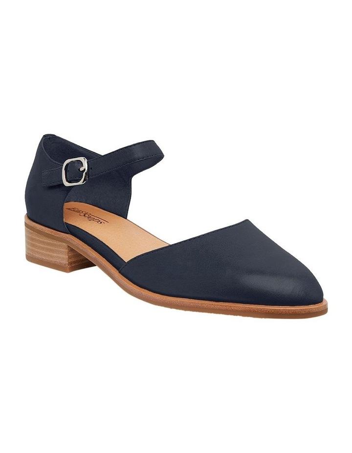 Jesinta Navy Glove Flat Shoes image 2