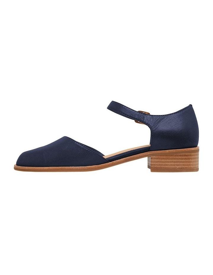 Jesinta Navy Glove Flat Shoes image 3