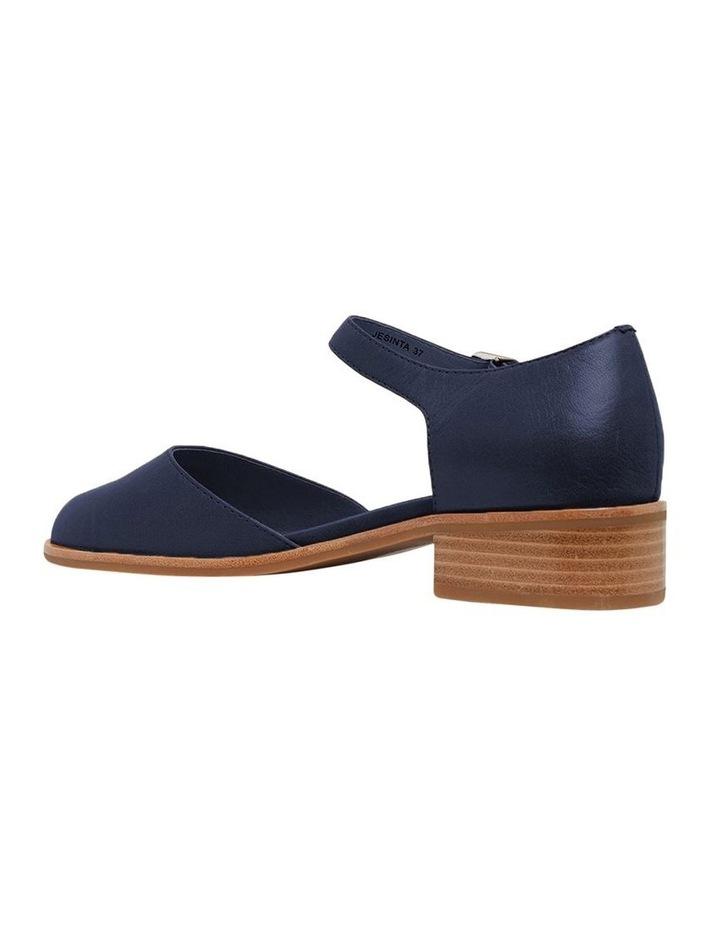 Jesinta Navy Glove Flat Shoes image 4