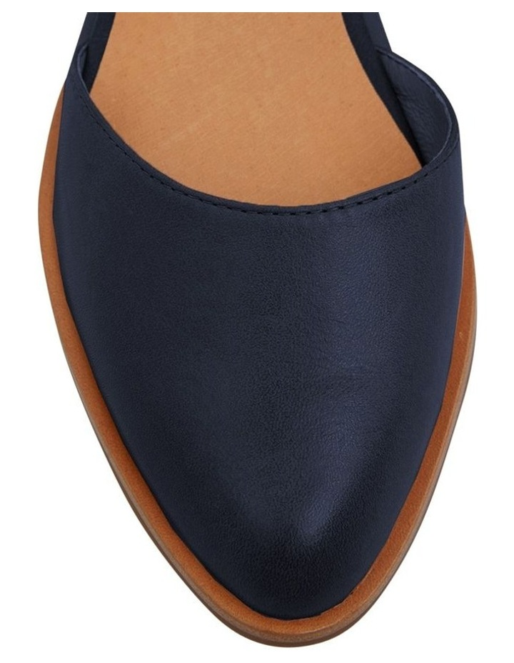 Jesinta Navy Glove Flat Shoes image 7
