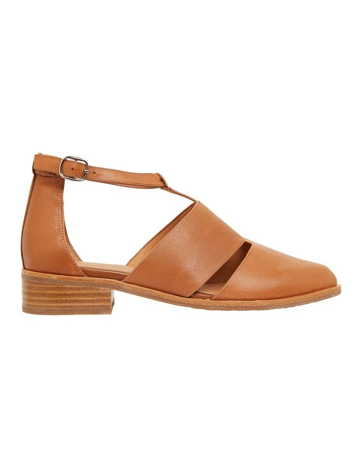 Jocelyn Cognac Glove Flat Shoes image 1