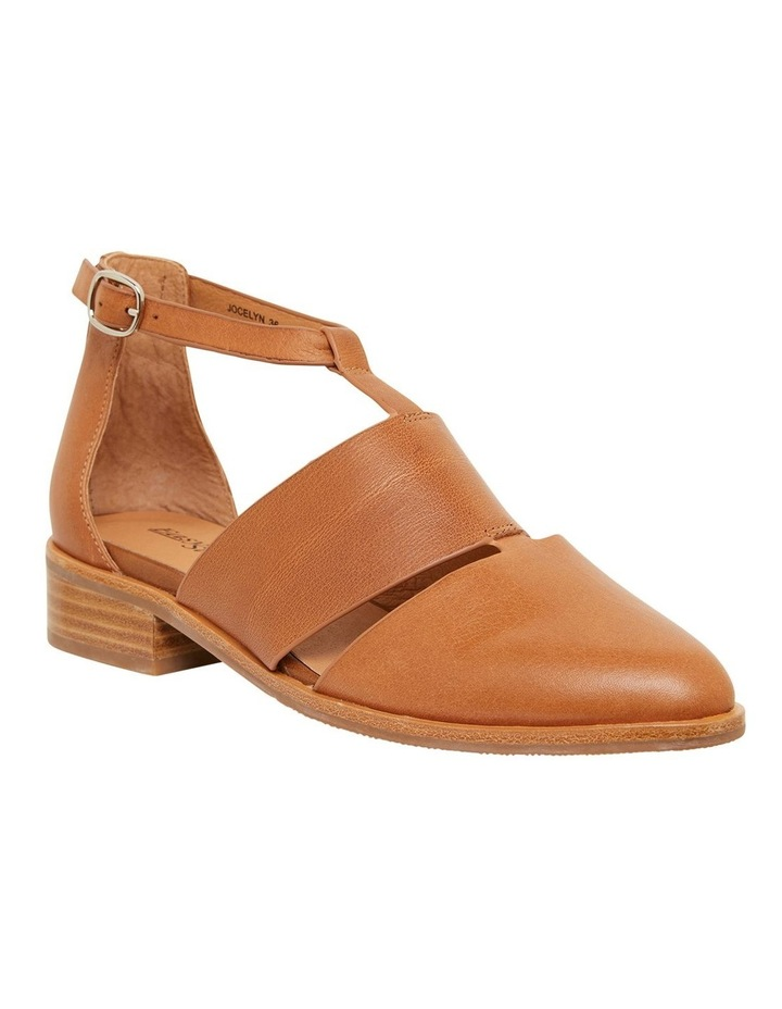 Jocelyn Cognac Glove Flat Shoes image 2