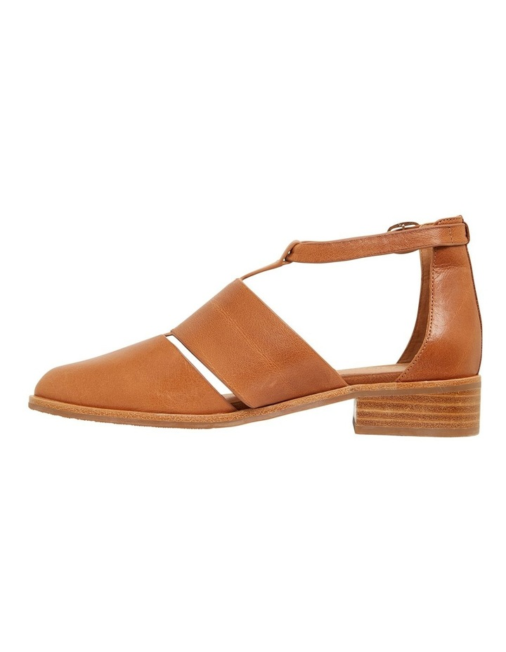 Jocelyn Cognac Glove Flat Shoes image 3