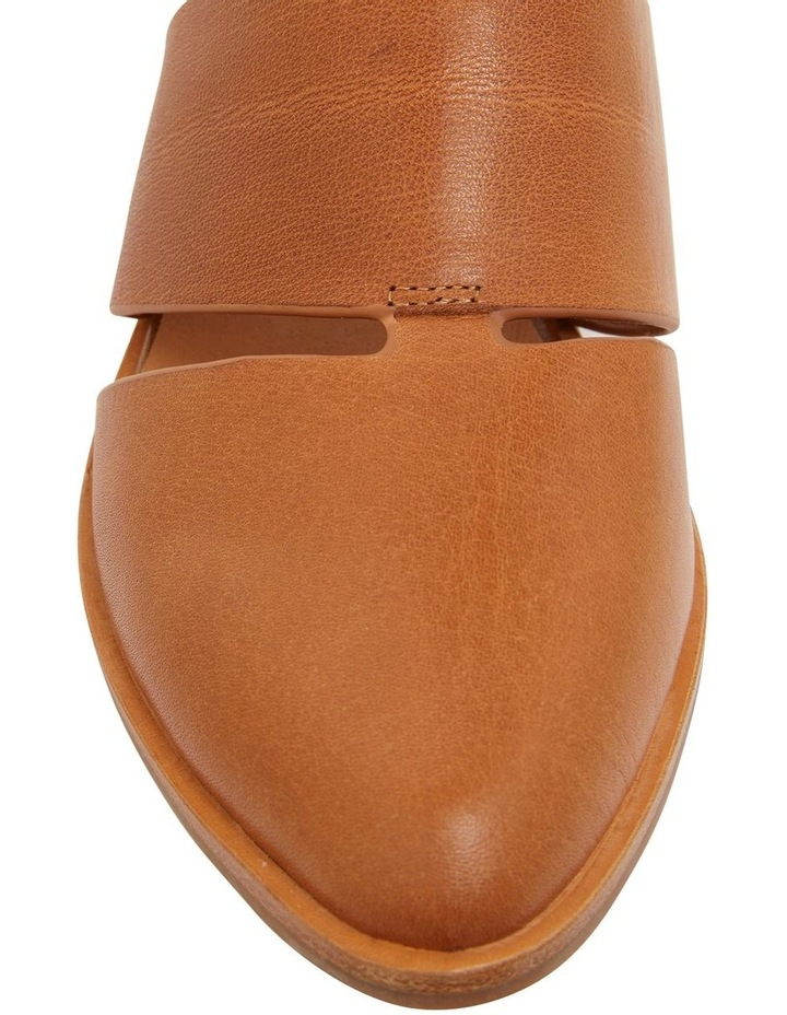 Jocelyn Cognac Glove Flat Shoes image 5