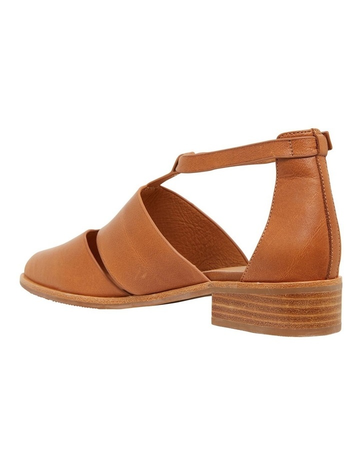 Jocelyn Cognac Glove Flat Shoes image 6