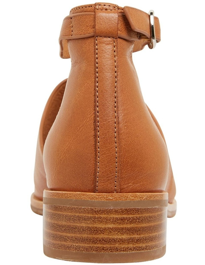 Jocelyn Cognac Glove Flat Shoes image 7