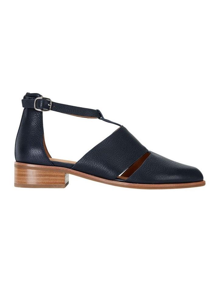 Jocelyn Navy Glove Flat Shoes image 1