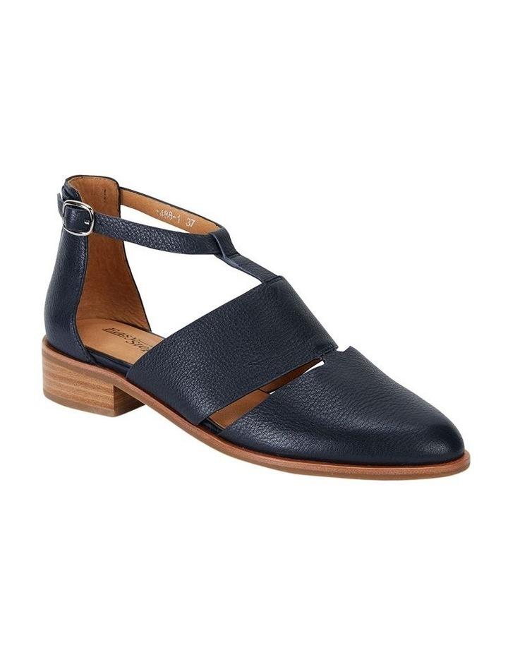 Jocelyn Navy Glove Flat Shoes image 2