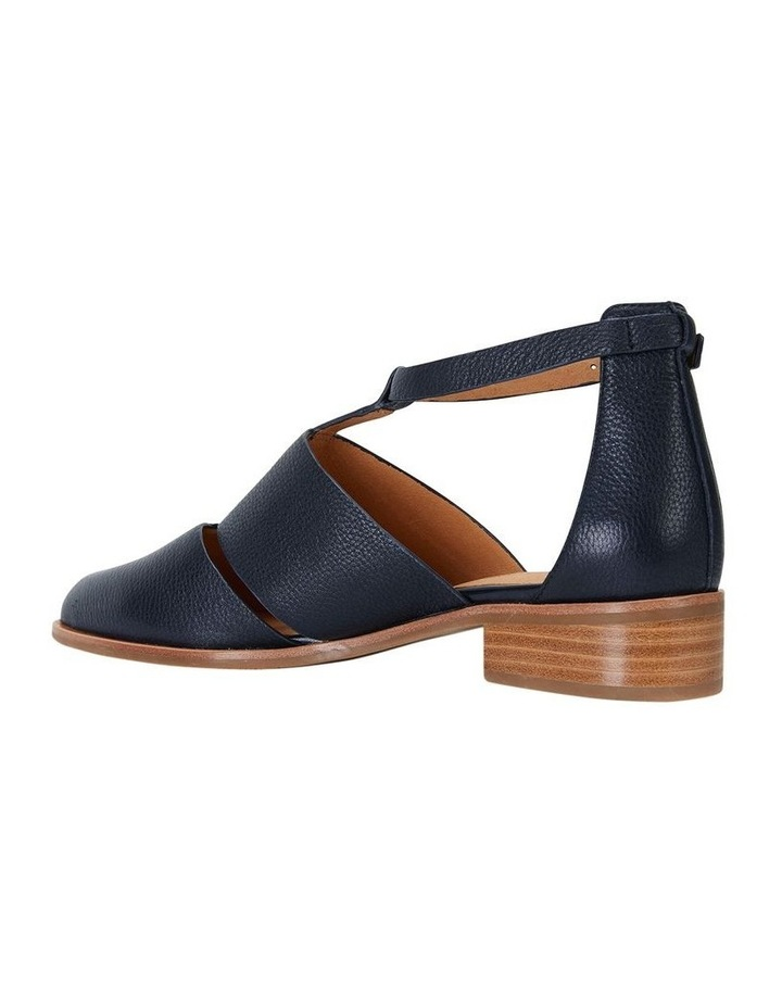 Jocelyn Navy Glove Flat Shoes image 3